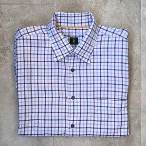 Robert Talbott's Mens Dress Shirt Size XL